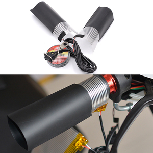 Image 2 - WUPP 1PCS 12V Motorcycle Handle Electric Heating Grips Kit Refit Hand Set  Heated Insert Handlebar Pad High Quality