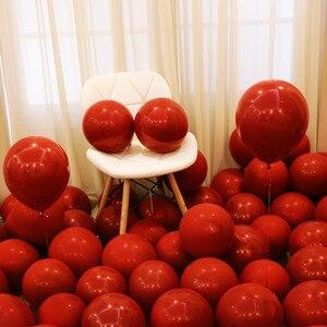 Image 5 - 12 ピース/ロットピンクラテックスバルーンクロームゴールドシルバーゴールドクロームメタリック結婚式ブライダルシャワーのテーマパーティーの空気ヘリウム装飾風船