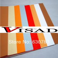 free shipping 8 colors 10 sheet 70*138cm VISAD Chinese rice paper for painting and calligraphy,Xuan paper Pastel rice paper