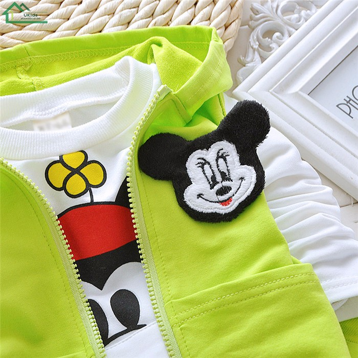 mickey mouse kids boys clothes set06