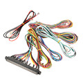 New 28*2 56pin Jamma Arcade Harness With Action Button Loom For Standard Jamma Arcade Game Machine Cabinet Wire