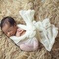 Новорожденные Фотография Реквизит Младенческой Костюм Наряд Хлопка Мягкий Фото Wrap Matching Baby Фотография Реквизит fotografia