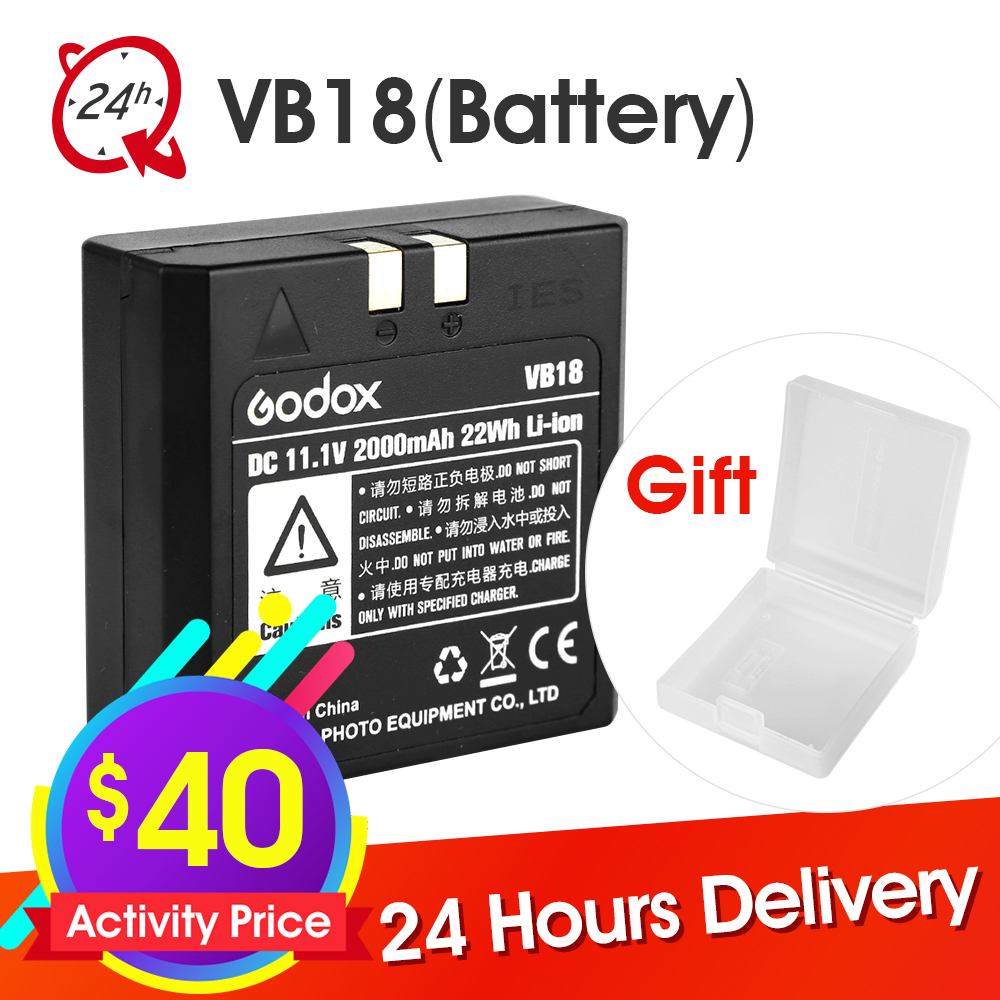 Godox VB18 DC 11 1V 2000mAh 22Wh Lithium ion Li ion Battery for Ving V850 V860C