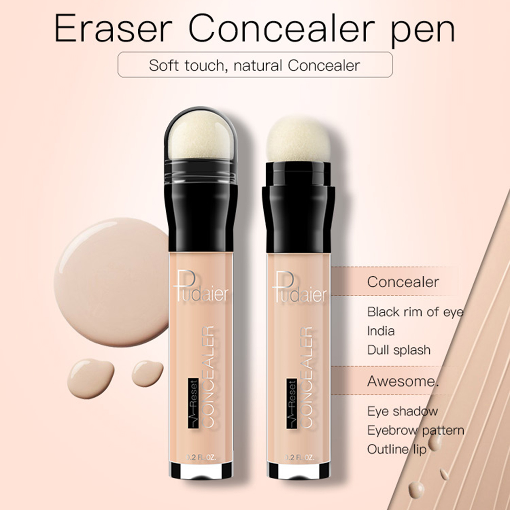 Face Foundation Concealer Eraser Pen Long Lasting Dark Circles Corrector Contour Concealers Stick Maquillaje Profesional TSLM2