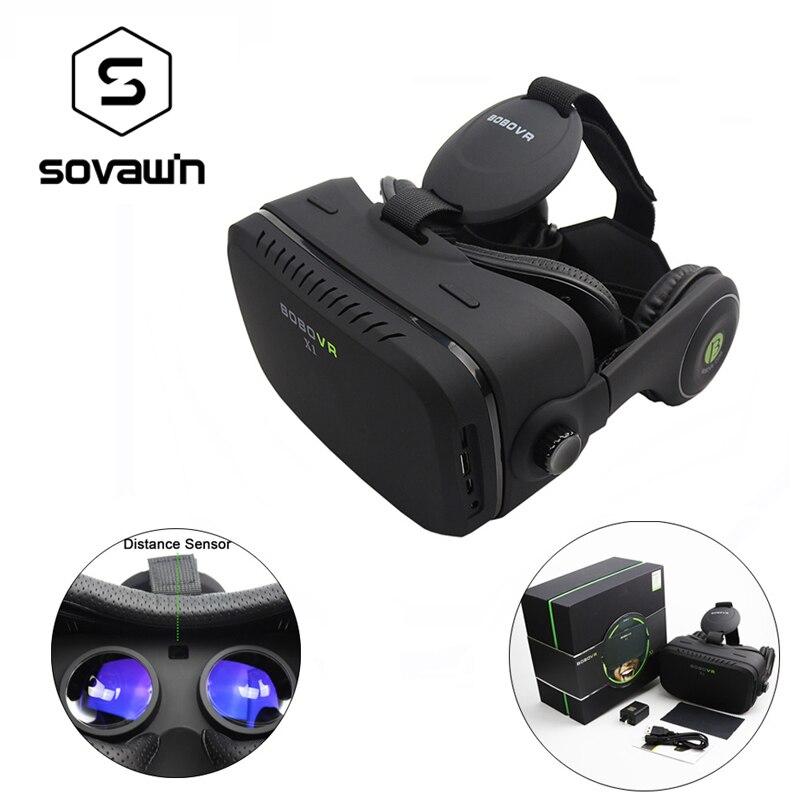 Original x1 bobovr todo en uno wi-fi gafas 3d virtual realidad VR Smartphone Aur
