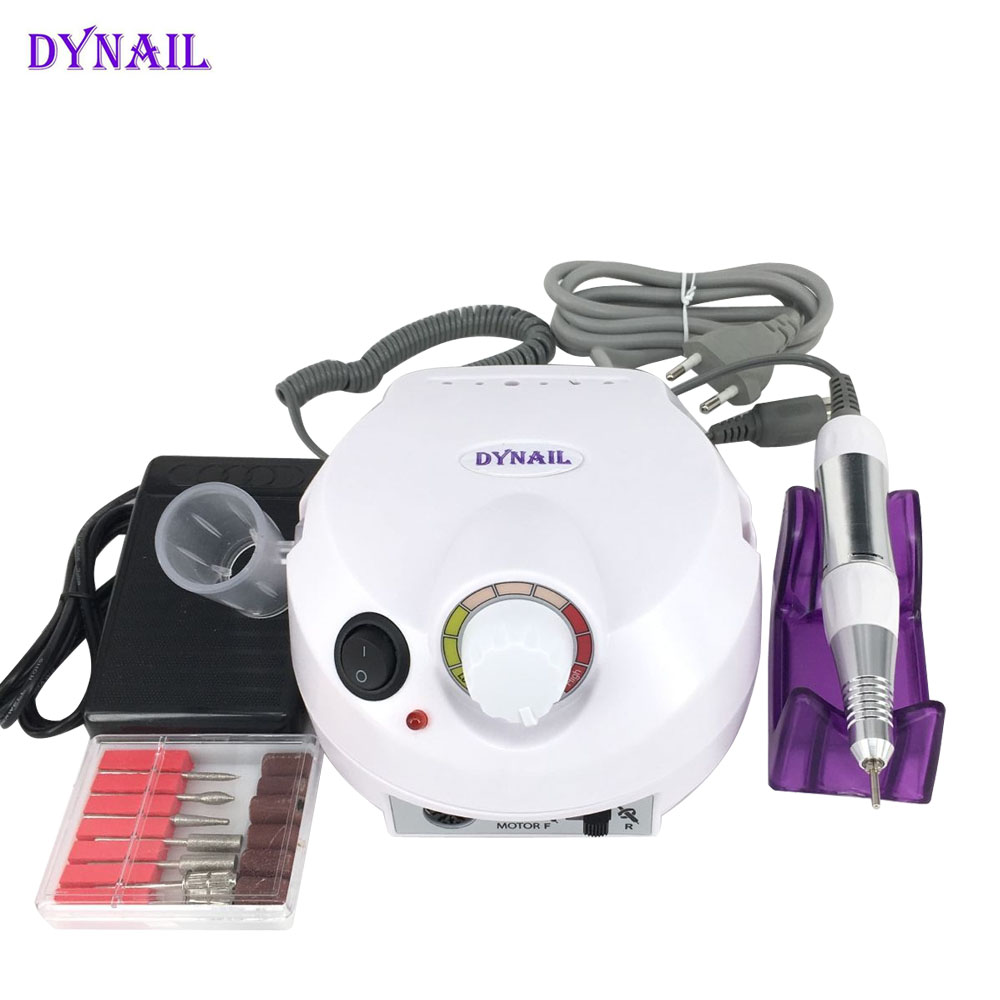 Professional Electric nail drill file Electric Nail Manicure Machine Kits File Bits Sanding Band Accessory Nail Tools for nails white nail tools electric nail drill machine 30000rpm nail art equipment manicure kit nail file drill bit sanding band accessory