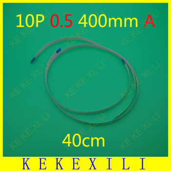 100X New FFC FPC flat flexible cable 0.5mm pitch 10 pin 10PIN A Forward Length 400mm Width 5.5mm Ribbon Flex Cable