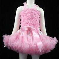 Girls Tutu skirt children's set factory direct suspenders pettiskirt girl Princess Tutu skirts