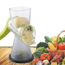 Manual Vegetable Cutter Slicer Kitchen Accessories Multifunctional Round Mandoline Slicer Potato Cheese Kitchen Gadgets