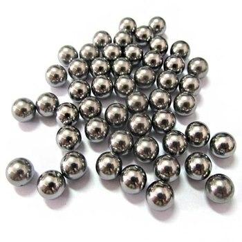 244 unids/lote Lote/KG de catapulta para golpear munición 10mm bolas de acero para bicicleta rodamiento