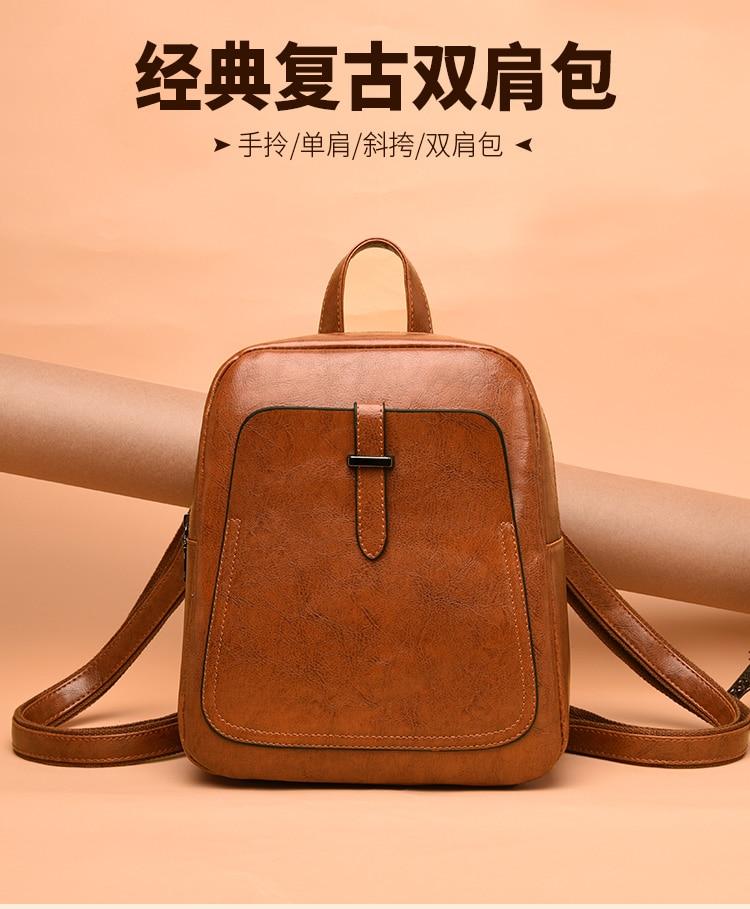 New Korean Fashion Women Backpack Messenger Handbag Tote Bag Satchel School bags