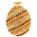Newest Fruit Ananas Luxury Diamond Crystal Evening Bag personalized Ladies Party Purse for pochette Prom Women Clutch Bag SC471