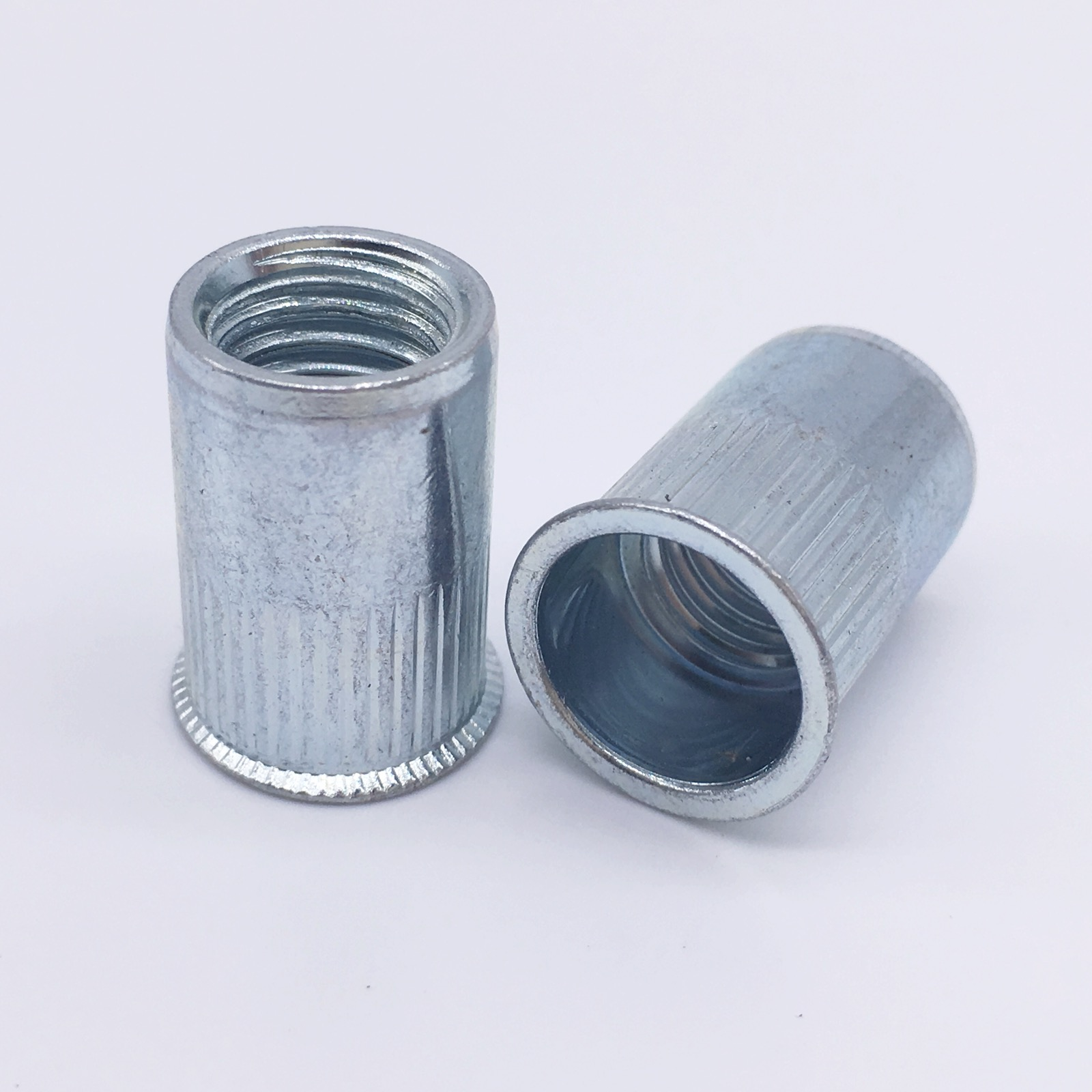 Rivet Nuts Threaded Inserts Blind Nuts Nutserts Rivnut M3 M4 M5 M6 M8 M10 M12 Small Head Countersunk Zinc Plated 165pcs m3 m4 m5 m6 m8 m10 m12 zinc plated knurled rivet nuts flat head threaded