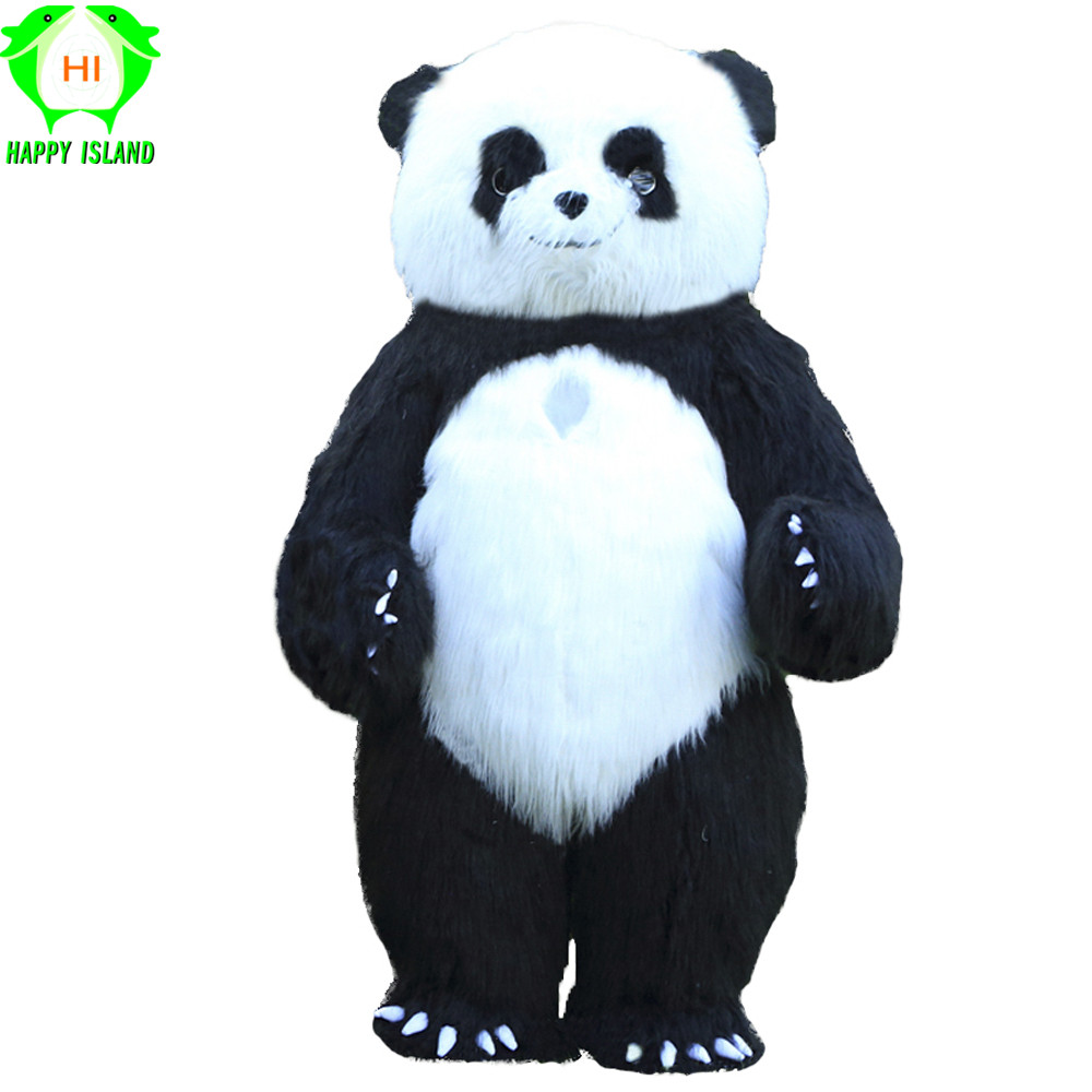 2019 New Inflatable Panda Costumes Halloween Cosplay Costume Advertising 2M Tall Customize for Adult Suitable for
