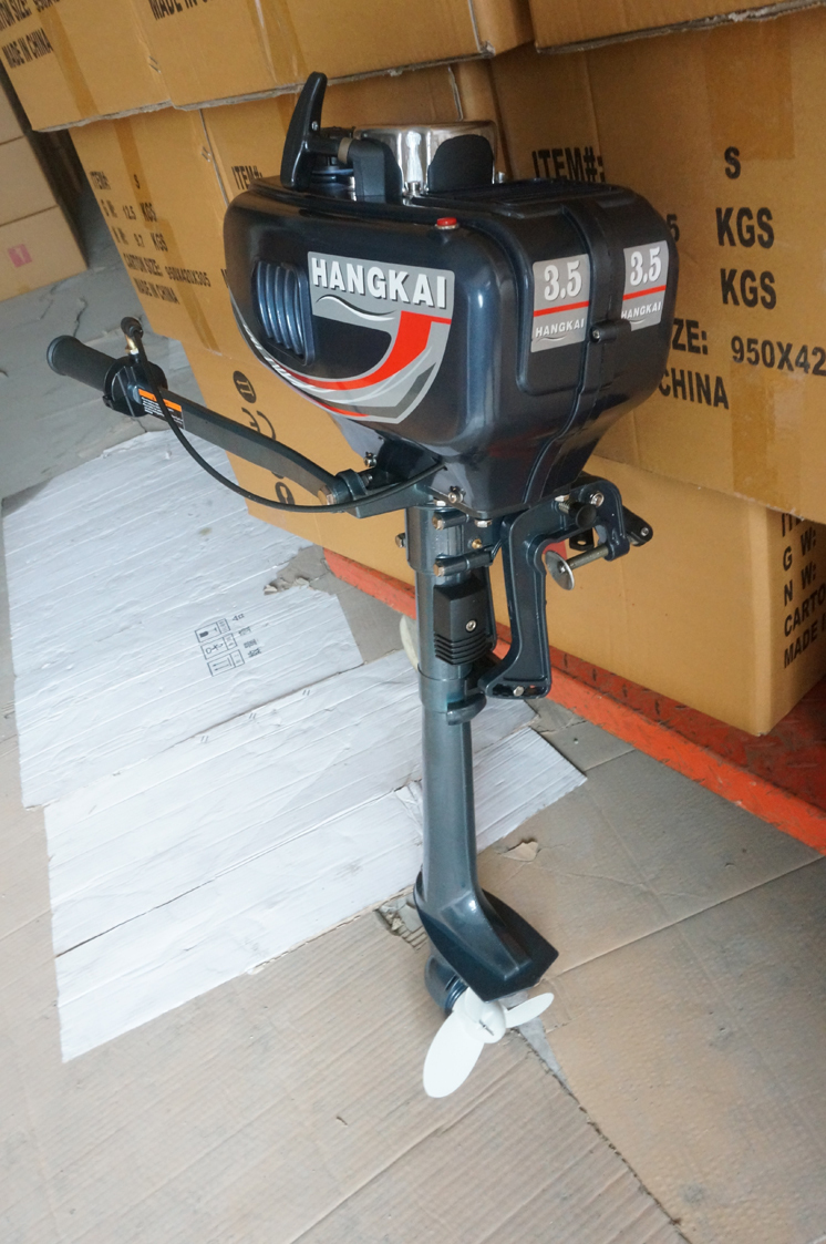Wholesale retails high quality 3 5hp outboard motor two for 2 stroke boat motors