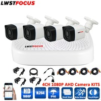 4CH AHD KITS 5 IN 1 Security XVR DVR System 1920 1080P 3000TVL AHD Weatherproof Outdoor