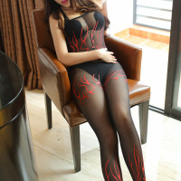 Black Beige Sexy Fishnet Bodystocking Plus Size See Through Sheathy Open Crotch Bodysuit Sex Product Body