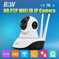HD 720 P Cámara IP Inalámbrica Wifi IR-Cut Visión Nocturna Dos vías de audio cámara de seguridad de vigilancia de vídeo p2p wi-fi sd micro tarjeta