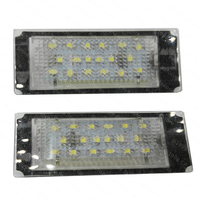 For 1998 99 00 01 02 2003 BMW E46 2Door Coupe M3  Error Free 18 LED License Plate Light Lamp new arrival 2pcs 18 smd 3528 led license plate light lamp bulb white for bmw e46 2 door 1998 2003 12 30v free shipping