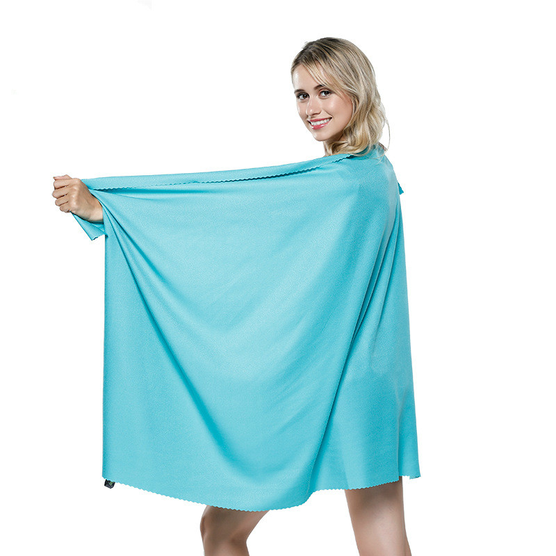 storage bag.Pink Blue white Quick drying microfibre BEACH towel