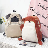 Kawaii Fox Puppy Shoulder School Bags For Teenage Girls Cartoon Backpack Women S Bag Backpacks Cute