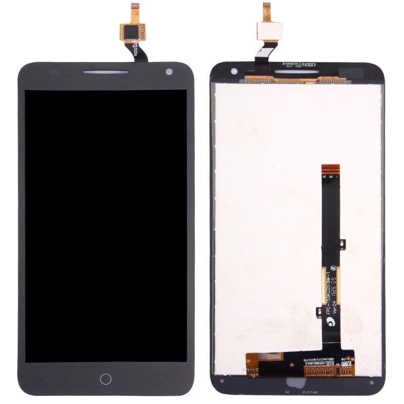 Высокое качество ЖК экран и дигитайзер полная сборка ЖК Замена стекло для Alcatel One Touch Pop 3 5,5/5025