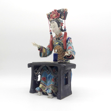 Sculpture Ceramics Ornaments Classical Characters Collections Art Crafts Handicraft Statue Figurine Chinese Style Work