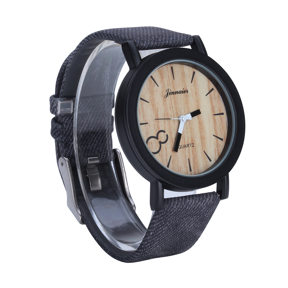 New fashion simple wood grain face for men and women casual style quartz watch 2017 low price new vintage wood grain watches for men women fashion quartz watch faux leather unisex casual wristwatches gift