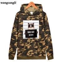 Brand 2017 New Fashion Spring Autumn Mens Hoodies Camouflage Style Hoodie Army Sweatshirt Tracksuit Male Hoodie