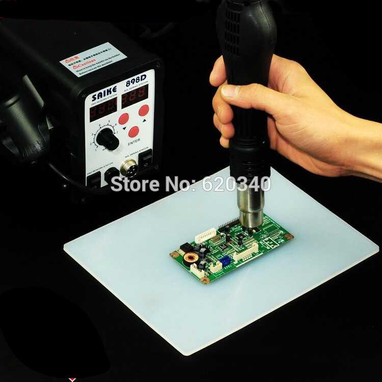 ESD-pistolet à chaleur résistant à la chaleur, plate-forme d'entretien de tapis de bureau