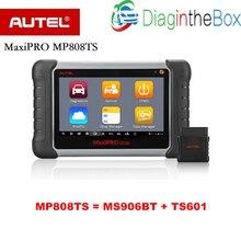 MaxiPRO MP808TS autel автомобильный диагностический сканер с функцией tpms-сервис и Bluetooth в сочетании DS808/MS906 и TS601