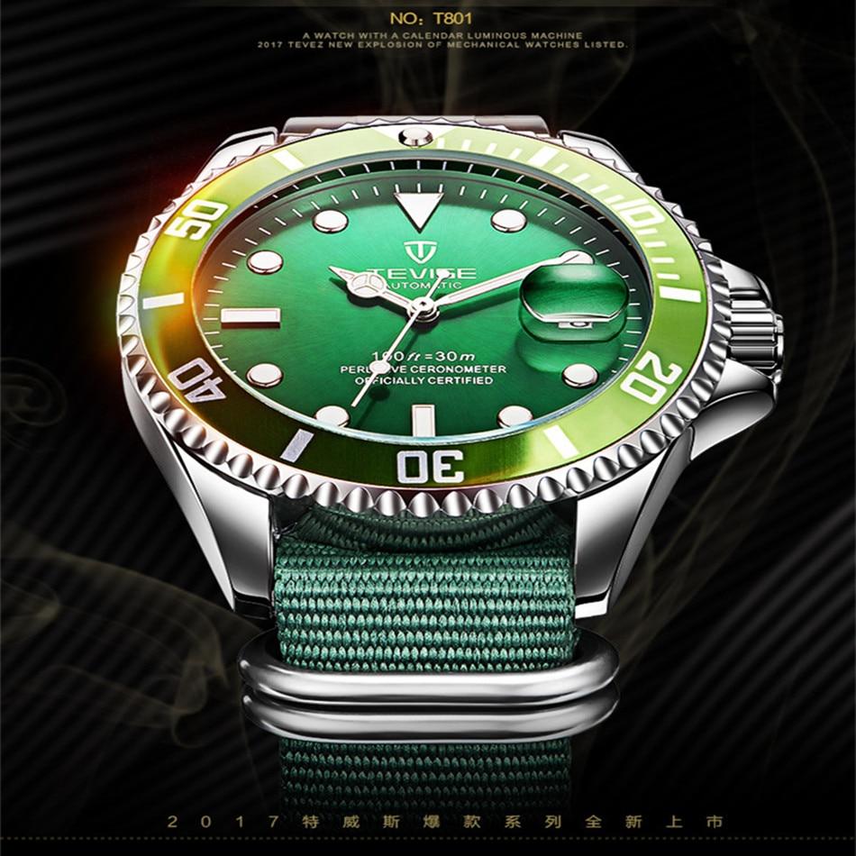 HTB1iiV5KruWBuNjSszgq6z8jVXap Tevise Luxury Waterproof Automatic Men Mechanical Watch Auto Date Full Steel Business Top Brand Man Watches Water Resistant T801