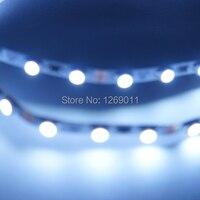 5 metre Süper Ince 5mm genişlik LED Şerit Işık 120 LEDs Beyaz Renk ile 12VDC için süper ince lightbox
