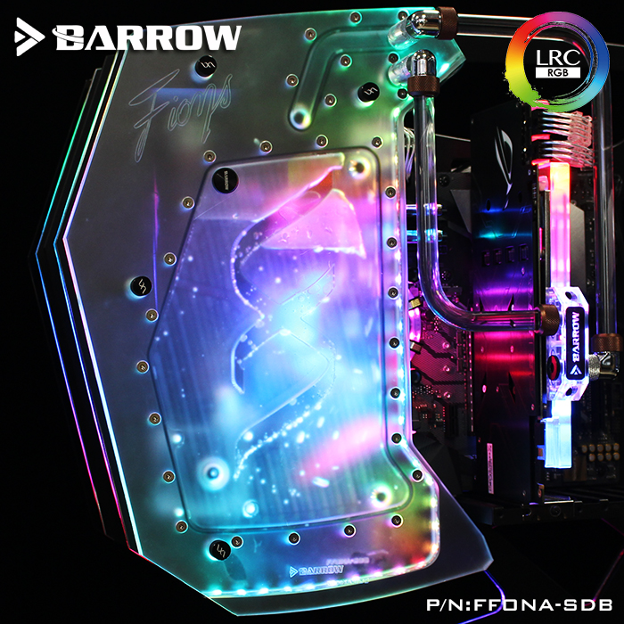 Barrow FFONA-SDB, Waterway Boards For FUXK Butterfly FIONA Open-Type Case, For Intel CPU Water Block & Single GPU Building цена и фото