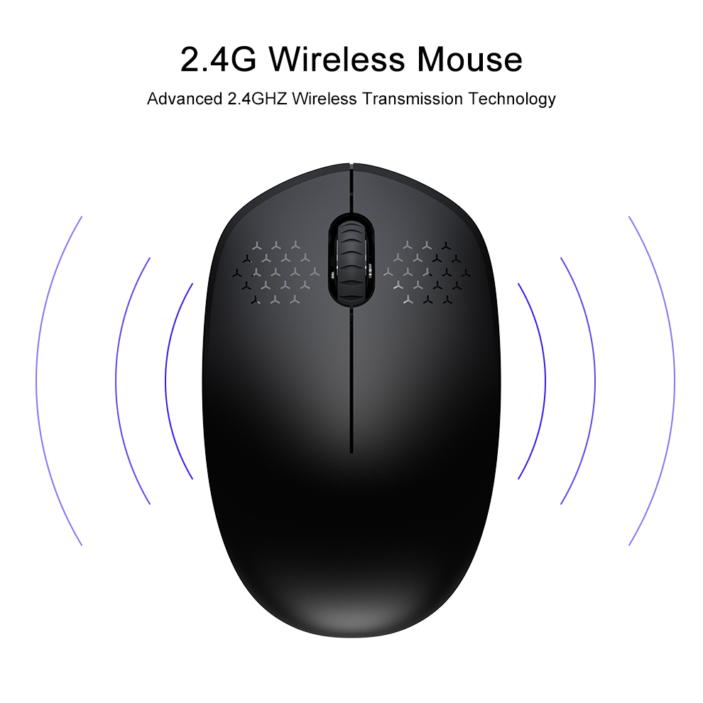 Fbyeg 2.4GHz Wireless Mouse Slient gaming Bluetooth Mini computer Mouse for laptop -1-2