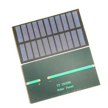 Wholesale 1.6W 5.5V Polycrystalline Solar Panel  Mini Solar module Solar Cell DIY &Test  Solar System 30pcs/lot  Free Shipping