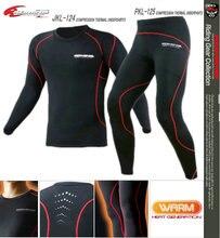 Komine jkl-124 split motorcycle underdress clothing automobile race clothing sweat absorbing thermal underwear