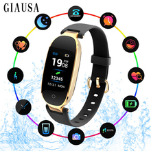 Smartwatch Smart Watch Women Ladies girls Heart Rate Monitor Pedometer Fitness Band Bluetooth watch connected Android IOS Phone fabulous new watch heart rate monitor fitness bluetooth smart wrist watch phone mate for ios and android phone intelligent watch