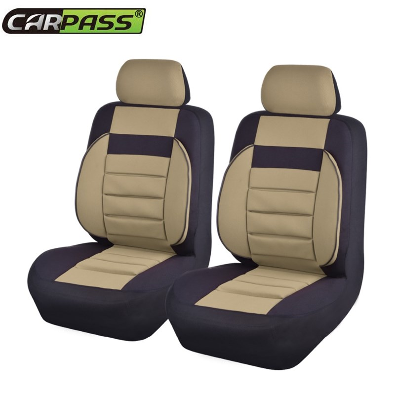 Aliexpress.com : Buy 2 Pieces/lot Soft Sofa Unverisal Car Seat Covers Red  Blue Beige Color Car Pass Brand Automobile Seat Covers Fit For Ford Hyundai  From ...