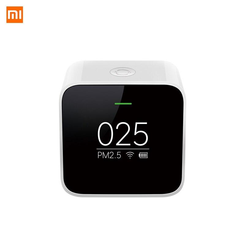 Xiaomi Mijia PM2.5 Détecteur Xiaomi Testeur de Qualité D'air Écran OLED Capteur Intelligent Contrôle Intelligent APPLICATION Adapter Mi Purificateur D'air Moniteur