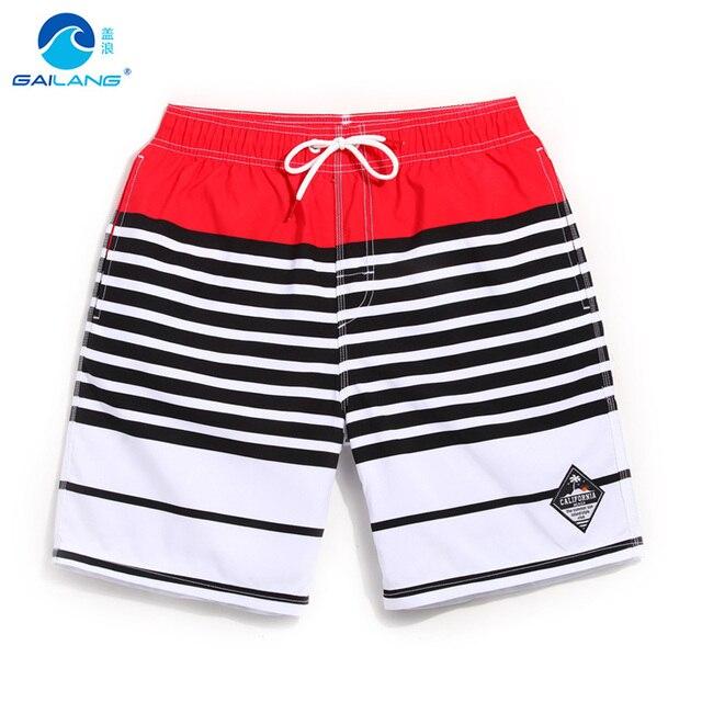 Пляж брюки мужчины быстросохнущие свободные пять минут брюки больших размеров удар цвет досуг брюки моды сплайсинга шорты