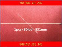 Tela led backlight 6917L-0084A 6922L-0016A 6916L0815A 1 pcs = 60led 531mm