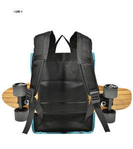 Image 5 - 1000D ניילון תרמילי כתף MACKAR סקייטבורד Longboard קטן שקיות גברים שחור/הסוואה רחוב תרמילי בחוץ
