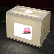 จัดส่งฟรีโดยDHL SANOTOแบบพกพาขนาดเล็กPhoto Studioภาพถ่ายกล่องไฟรูปกล่องMK50กล่องซอฟท์สำหรับ220/110โวลต์