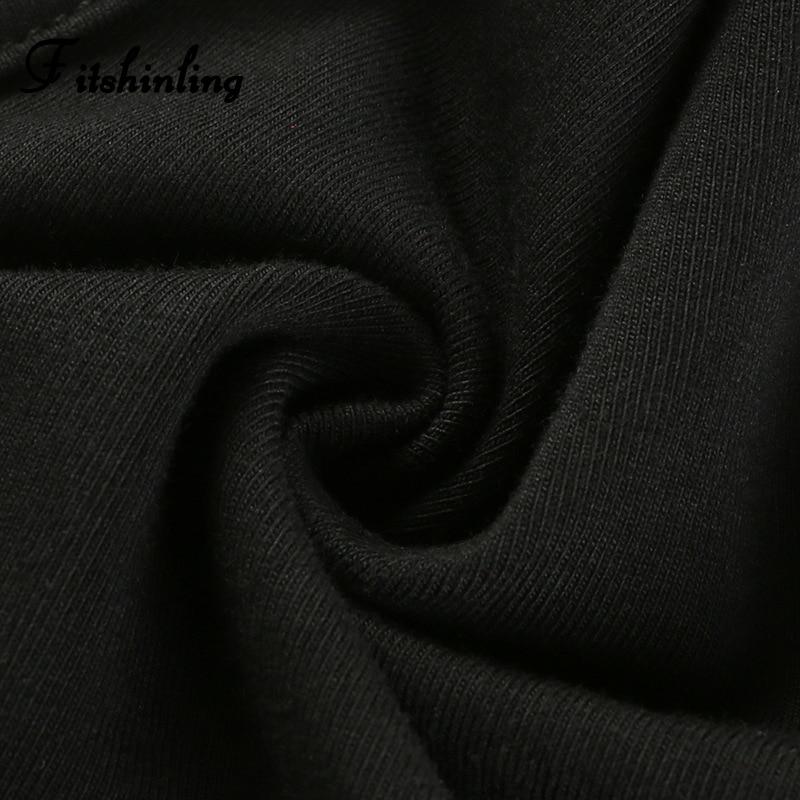 Fitshinling Cotton High Cut Summer Bodysuits Good Quality Letter Print Spaghetti Strap Black Bodysuit Women 2019 Body Jumpsuits