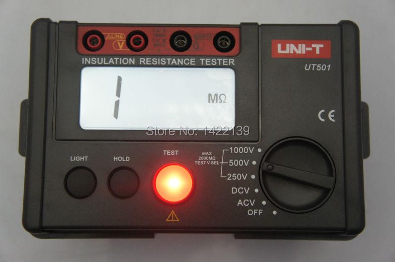 Uni-T UT501 Insulation Resistance Tester 250/500/1000V