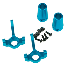 1 Set Steering Hub Carrier Knuckle Rear Cup Axle Adapters Lockout For RC 1/10 SCX10 Cars Parts Hop-Up Parts
