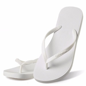 Image 3 - Hotmarzz ผู้หญิง Summer Beach รองเท้าแตะ Flip Flops บางยางสีขาวรองเท้าแตะ Designer ยี่ห้อรองเท้าสไลด์ House Pool รองเท้าแตะ