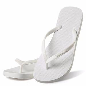 Image 3 - Hotmarzz Women Summer Beach Sandals Slim Flip Flops White Rubber Slippers Designer Brand Shoes Slides  House Pool Slippers