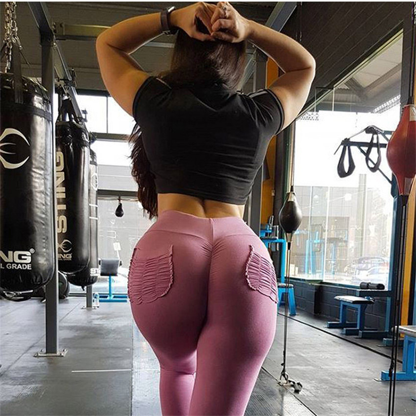 Sexy Push Up Leggings Women Pockets High Waist Gothic Leggings Breathable Polyester Candy Color Punk Legging Fitness Legging